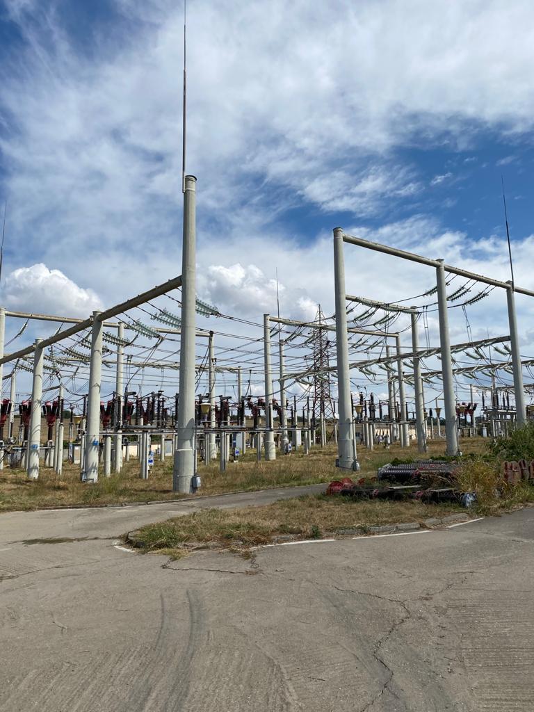 RETEHNOLOGIZAREA STATIEI 110 kV MEDGIDIA SUD